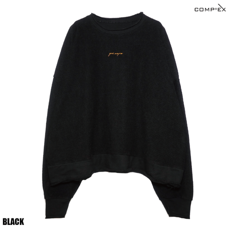 COMP®︎EX / god comprex INSIDEOUT CREW SWEAT