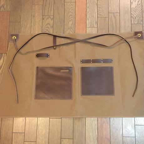 Leather working apron コンセプトスパイス メンズ・ワークエプロン(男性用作業エプロン)