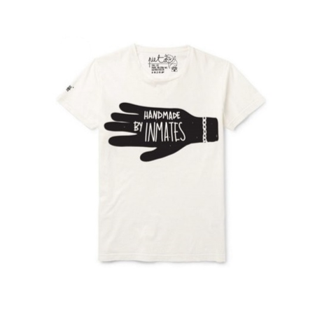 """Handmade"" Logo T-shirt  white"