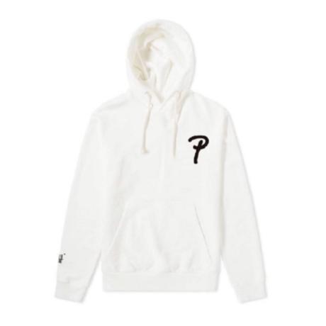 Small logo Hoodie  white