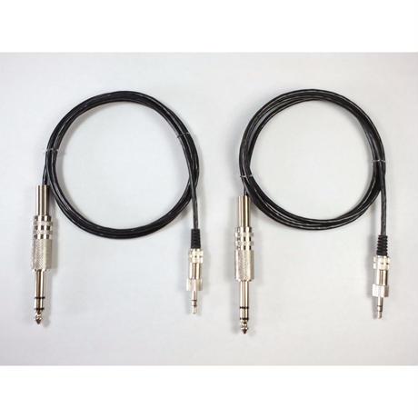 JM1210 JM10pro用入力バランスケーブル 1m 1/4フォーン