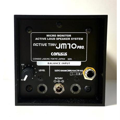 JM10 pro  超小型パワードスピーカー +4dBバランス対応 2台1組