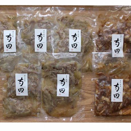 [送料込]星付き店の料理人監修「国産牛の牛丼(5パック)と牛すじ煮込み(2パック)のセット」【寺田】