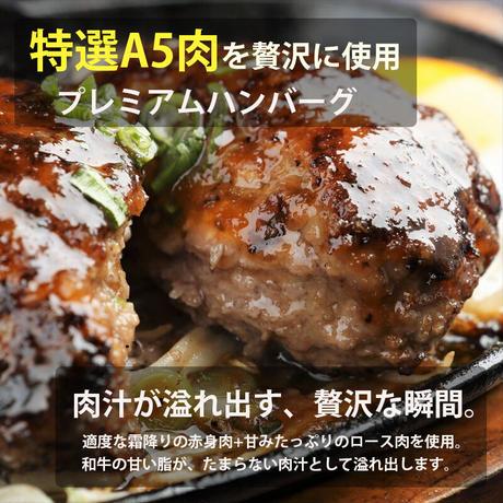 [送料込]特選A5!プレミアムハンバーグ(6個入り)【たじまや】