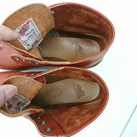RED WING 8166  6inch CLASSIC PLAIN TOEブーツ 26.5cm(259)
