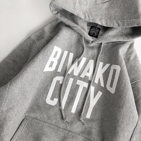 BIWAKO CITY / SWEAT HOOD PARKA / ビワコシティ / スウェットパーカー / グレー