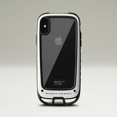 ROOT CO. / Shock Resist Case +Hold. for iPhone XS/X / スマホケース / 【iPhone XS/X 対応】