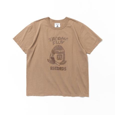 TACOMA FUJI RECORDS / TACOMA FUJI LOGO '21 designed by Tomoo Gokita / タコマフジ / 五木田智央 / コーヒー染 / ブラウン