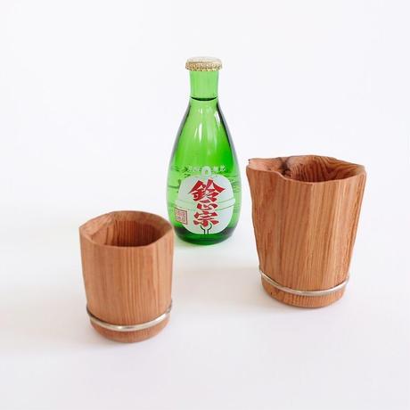 中川木工芸比良工房 / 割れ肌 / 片口 / 比叡山 / 杉