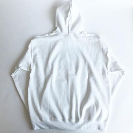 RYUJI KAMIYAMA / SWEAT PARKA / UNKNOWN PLEASURES / WHITE /  神山隆二 / スウェットパーカー / ホワイト