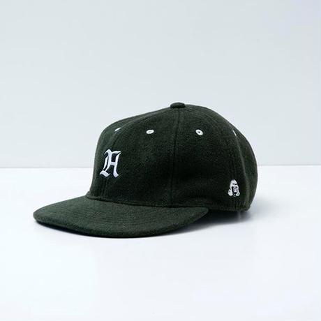 TACOMA FUJI RECORDS / A CAP designed by LETTERBOY / D.GREEN / タコマフジ / レターボーイ / ダークグリーン