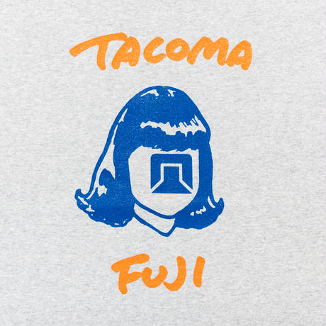 TACOMA FUJI HW LOGO / HEATHER GRAY