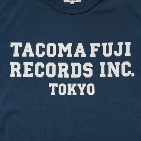 TACOMA FUJI RECORDS / INC.  designed by Shuntaro Watanabe / タコマフジ  / 渡辺俊太郎 / ネイビー
