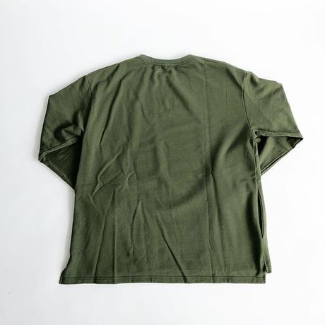HALF TRACK PRODUCTS / POCKET LONG SLEEVE TEE / OLIVE / ハーフトラックプロダクツ / ポケットロンT / オリーブ