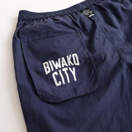 BIWAKO CITY / RUNNING SHORTS  / ビワコシティ / ショートパンツ / ネイビー