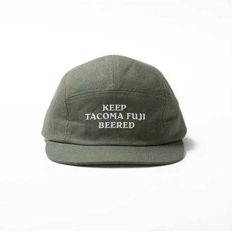 TACOMA FUJI RECORDS / KEEP TACOMA FUJI BEERED  designed by Jerry UKAI / タコマフジ / ジェリー鵜飼 / キャップ
