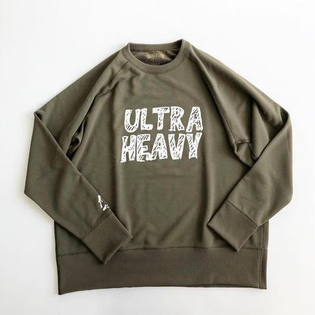 ULTRA HEAVY × UNHALF DRAWING × 海千山千會 / ポリエステルスウェットシャツ / ウルトラヘビー