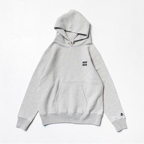 TACOMA FUJI RECORDS / GOOD BEER HOODIE  designed by Jerry UKAI / タコマフジ / スウェット / オートミール
