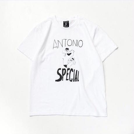 TACOMA FUJI RECORDS / ANTONIO SPECIAL LOGO  / WHITE / タコマフジ  / アントニオスペシャル /五木田智央 / ホワイト