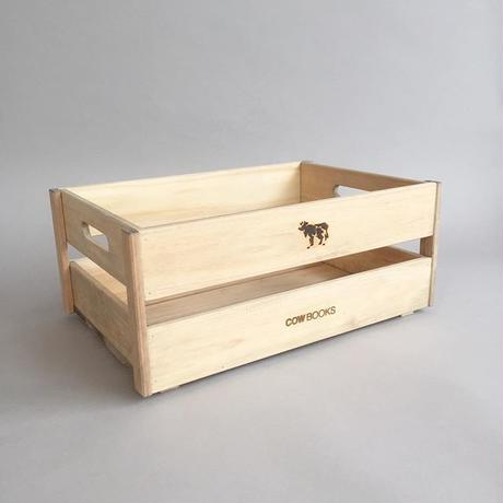 COWBOOKS / WOOD BOX / STACKING / SMALL /カウブックス / ウッドボックス / スタッキング / 小