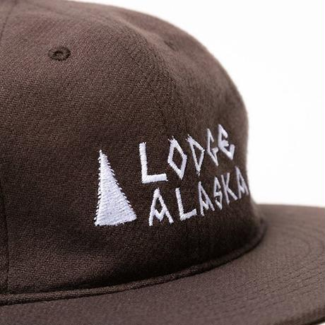 TACOMA FUJI RECORDS / Lodge ALASKA CAP designed by MATT LEINES