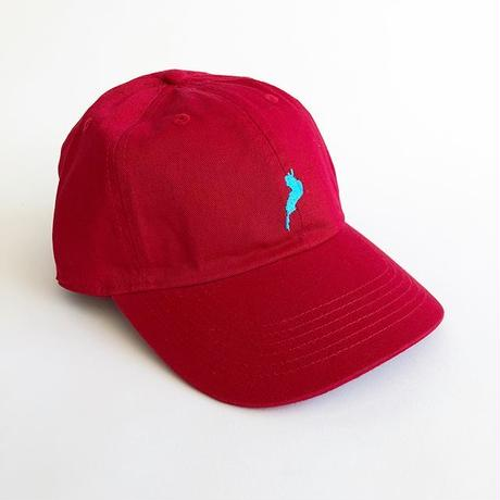 -CONNECT- ORIGINAL / MOTHER LAKE CAP / RED / コネクトオリジナル / マザーレイクキャップ / レッド