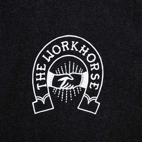 TACOMA FUJI RECORDS / THE WORKHORSE LOGO designed by Jerry UKAI / THE WORKHORSE / タコマフジ / ザ・ワークホース