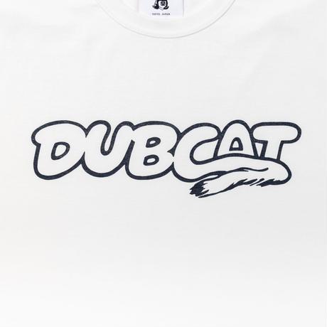 TACOMA FUJI RECORDS / DUB CAT  designed by Hiroshi Iguchi  / タコマフジ /  ホワイト