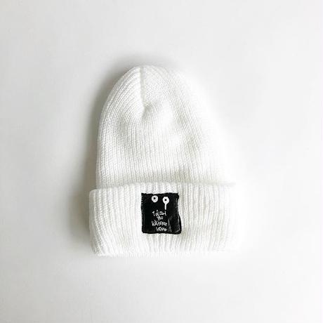 RYUJI KAMIYAMA / KNIT CAP / WHITE / 神山隆二 / ニットキャップ / ホワイト