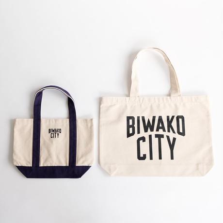 BIWAKO CITY   / BASIC LOGO TOTE BAG  / ビワコシティ / プリント / ヘビートートバッグ