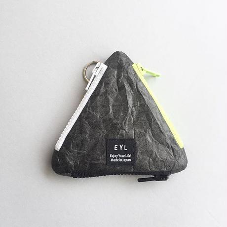 EYL / TRIANGLE COIN PURSE / TYVEK / BLACK / イーワイエル / トライアングルコインパース / タイベック / ブラック