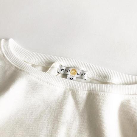 PURVEYORS × HALF TRACK PRODUCTS × MINI LIFE / STILL WATARS RUN DEEP / ROUND NECK TEE / Tシャツ