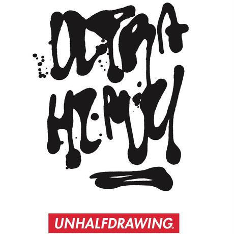 ULTRA HEAVY × UNHALF DRAWING × 海千山千會 / ポリエステルスウェットフーディ / ウルトラヘビー