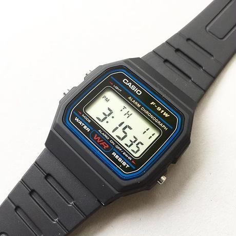 CASIO / DIGITAL WATCH / F-91W-1JF / カシオ / デジタル時計