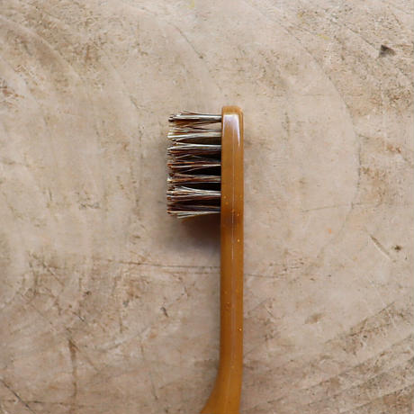 MEGURU / 竹の歯ブラシ・花馬毛(ふつう)