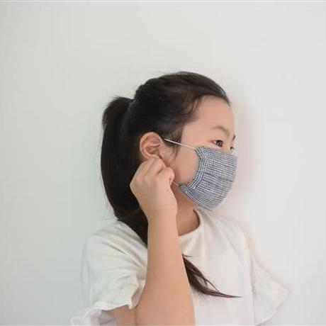 fog linen work / リネンキッズマスク