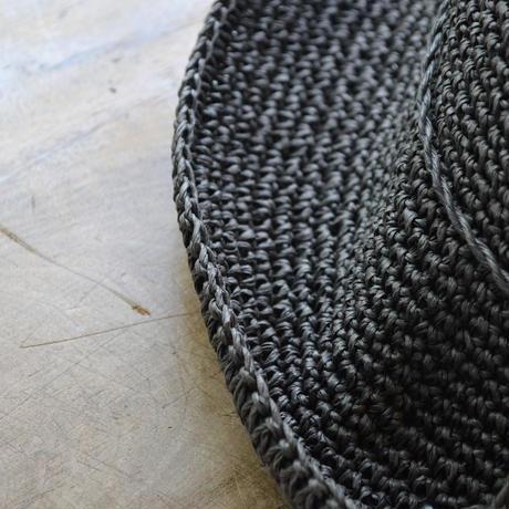 ささ和紙 手編み帽子