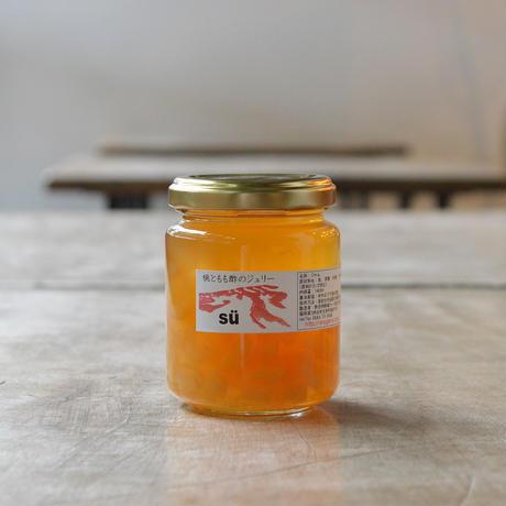 酢造発酵場スー / 桃ともも酢のジェリー