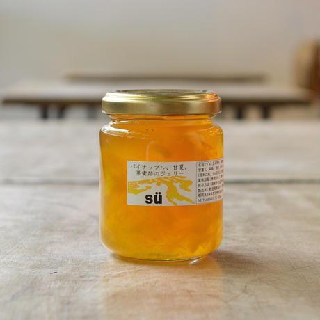 酢造発酵場スー / パイナップル、甘夏、果実酢のジェリー