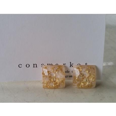 earrings アイボリー 180704/e-4