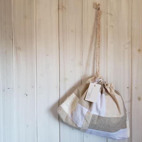 kinchaku bag . free square.