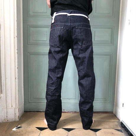 P02A // STRAIGHT INDIGO DENIM