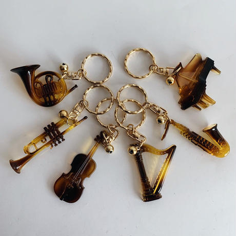 D/S Musical instrument key ring