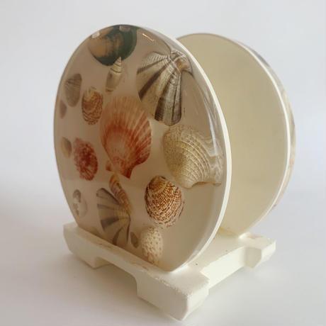 VTG Shell resin napkin holder