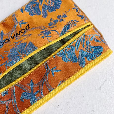 DONADONA printed oriental jqd big  pouch