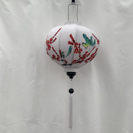 Vietnamese hanging lantern / White