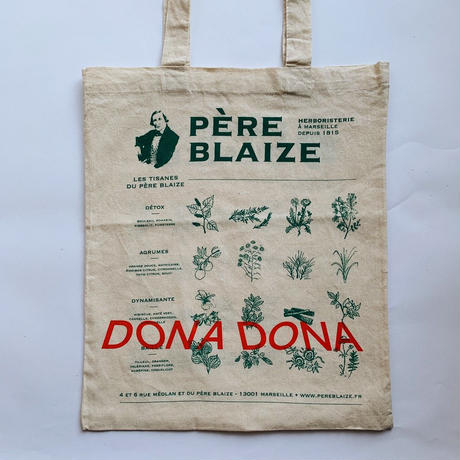 DONA DONA  Printed French totebag