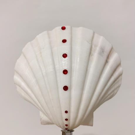 DONADONA Original  shell ornament / red