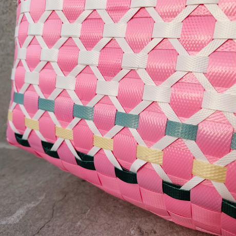 Vietnamese PP band bag / Pink (small)