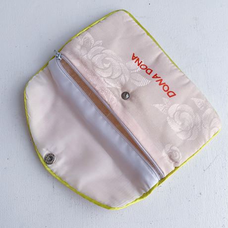 DONADONA printed rose jqd pouch large